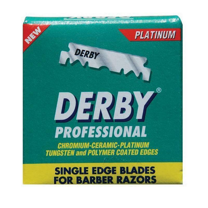 Derby Professional Single Edge Blades - Сменные лезвия для бритья 100 шт