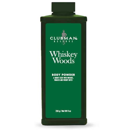 Clubman Whiskey Woods Body Powder - Пудра для тела 255 гр
