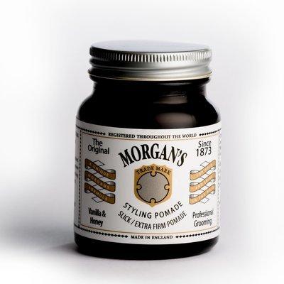 MORGAN'S Помада для укладки Vanilla & Honey Экстра сильной фиксации без блеска 100 ml