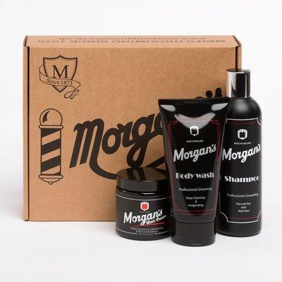 MORGAN'S Подарочный набор для ухода за волосами и телом