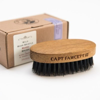 Captain Fawcett Wild Boar Bristle Beard Brush - Щетка для бороды