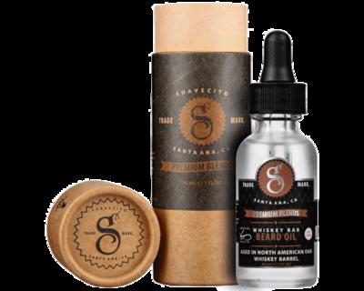 Suavecito Whiskey Bar Beard Oil - Масло для бороды с ароматом виски 30 мл