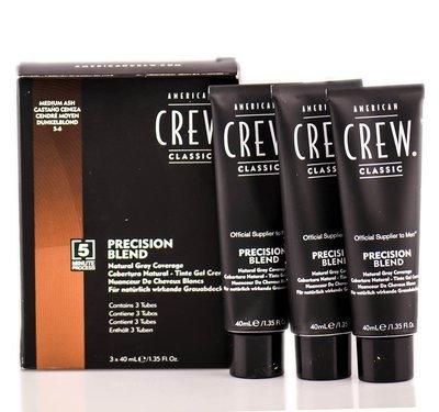 American Crew Precision Blend - Краска для седых волос пепельный оттенок 5/6, 3х40 мл