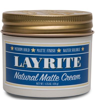 Layrite Natural Matte Cream - Матовый крем для укладки 120 гр