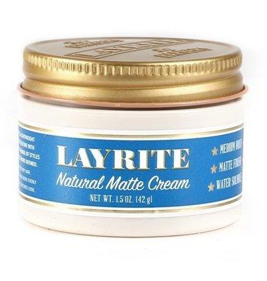 Layrite Natural Matte Cream - Матовый крем для укладки 42 гр