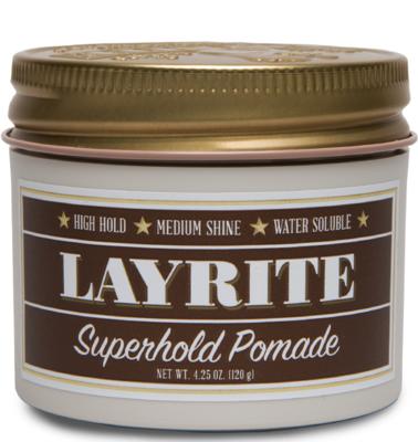 Layrite Super Hold Pomade - Помада для укладки волос 120 гр