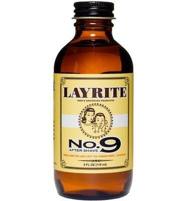 Layrite No. 9 Bay Rum Aftershave - Ром после бритья 118 мл