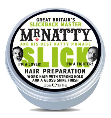 Mr.Natty Slick Pomade - Помада для укладки волос 100 гр