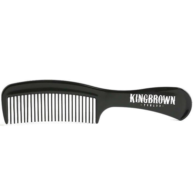 King Brown - Гребень c ручкой черный