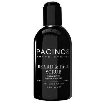 Pacinos Beard & Face Scrub - Скраб для бороды и лица 118 мл