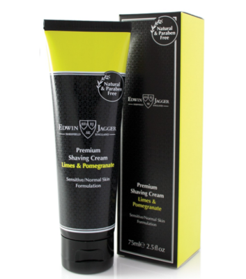 Крем для бритья Edwin Jagger / Shaving Cream Lime & Pomegranate 75 мл