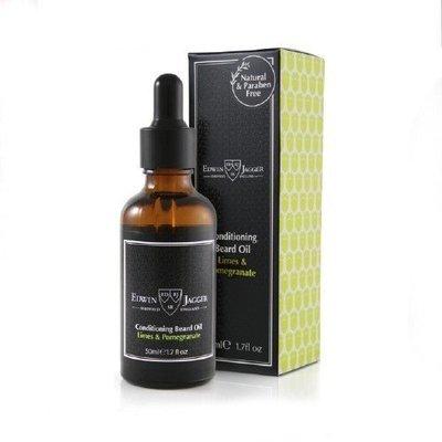 Масло для бороды Edwin Jagger Limes & Pomegranate Beard Oil - 50ml