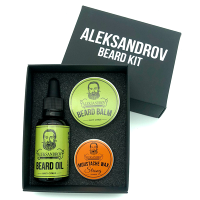 Aleksandrov Beard Kit №8 - Набор бородача