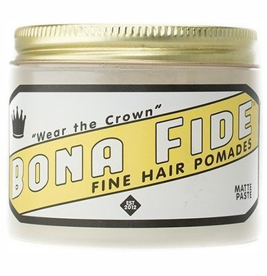 Bona Fide Matte Paste Pomade - Помада для волос на водной основе матовая 28 гр