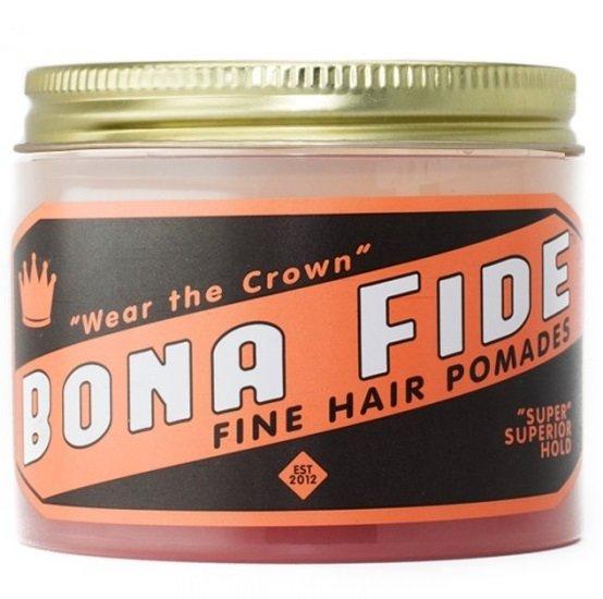 Bona Fide Super Superior Hold Pomade - Помада для волос на водной основе сильной фиксации 28 гр