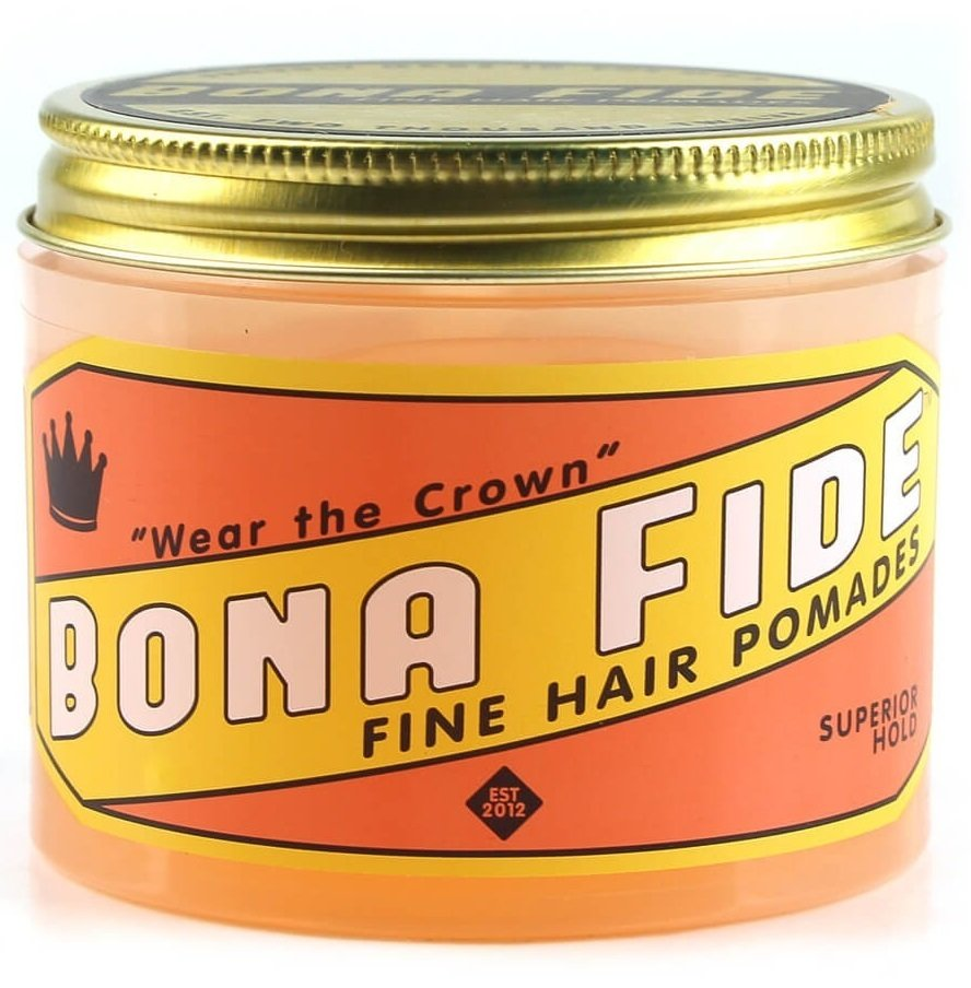 Bona Fide Superior Hold Pomade - Помада для волос на водной основе сильной фиксации 28 гр