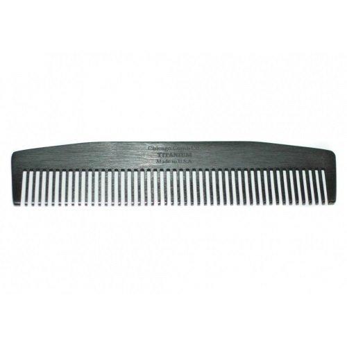 Chicago Comb Co. - Расческа Черный титан Модель No3