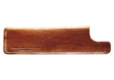 Ashland Leather Co. 1/3 English Tan - Чехол классический. Бронзовая кожа