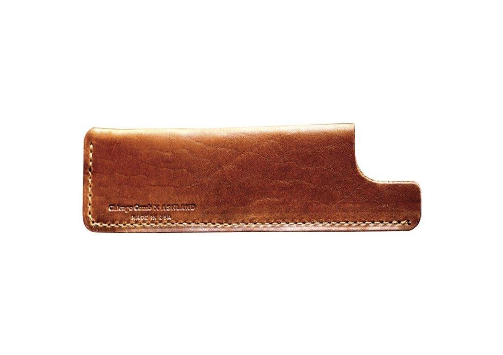 Ashland Leather Co. 2/4 English Tan - чехол классический. Бронзовая кожа