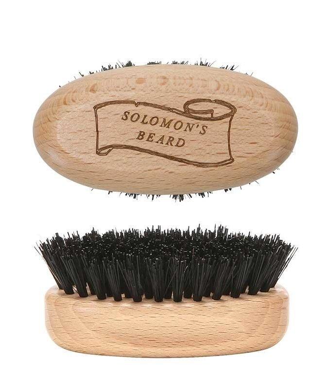 Solomon's Beard Brush - Щетка малая для бороды светлая