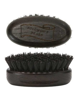 Solomon's Beard Brush - Щетка малая для бороды темная