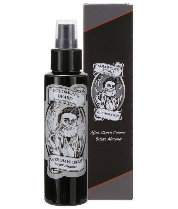 Solomon's Beard Bitter Almond Aftershave - Лосьон после бритья 100 мл