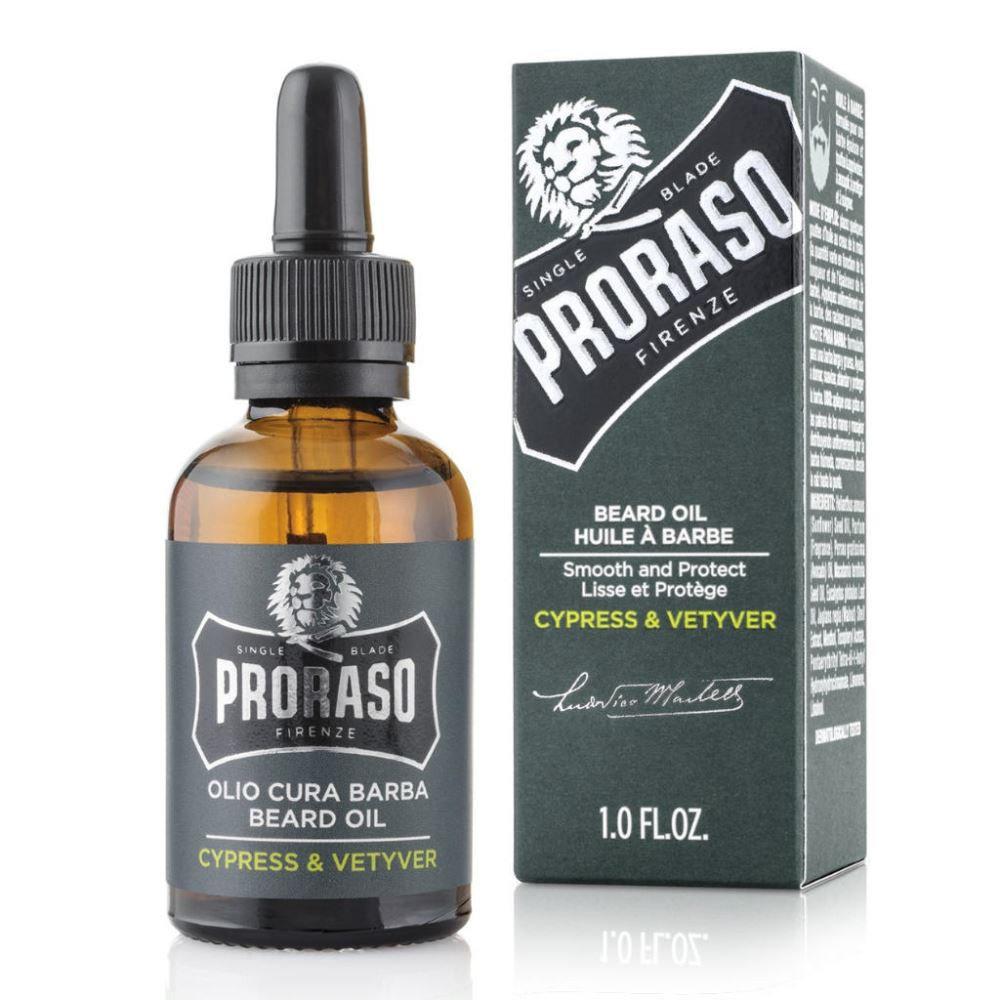 Proraso Cypress & Vetyver - Масло для бороды 30 мл