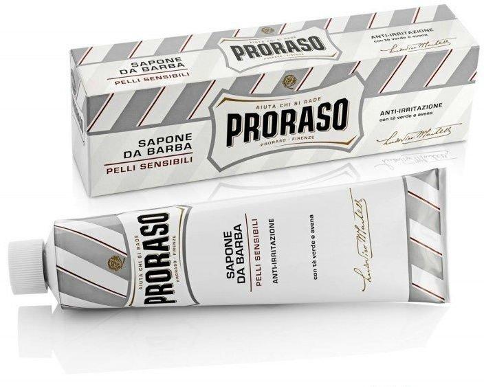 Proraso - Крем для бритья Зелёный Чай и Овёс 150 мл