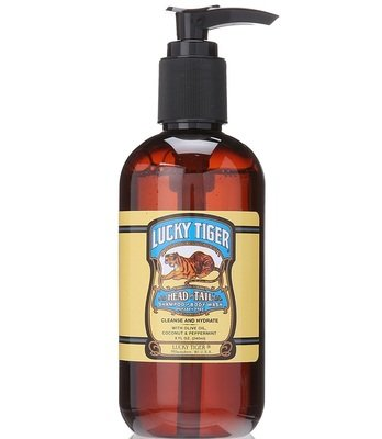Lucky Tiger Head to Tail Shampoo & Body Wash - Шампунь и гель для душа 2 в 1 240 мл