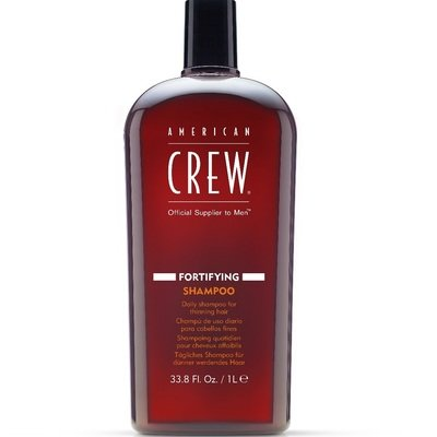 American Crew Fortifying Shampoo - Шампунь для ежедневного ухода за тонкими волосами 1000 мл