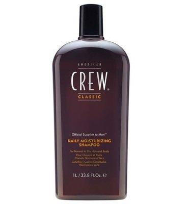 American Crew Daily Moisturizing Shampoo - Шампунь для ежедневного ухода за нормальными и сухими волосами 1000 мл