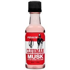 Clubman Musk After Shave Cologne - Одеколон после бритья Мускус 50 мл