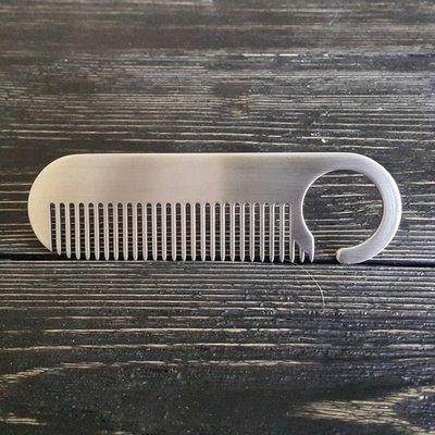Moyaboroda Стальная расческа для бороды