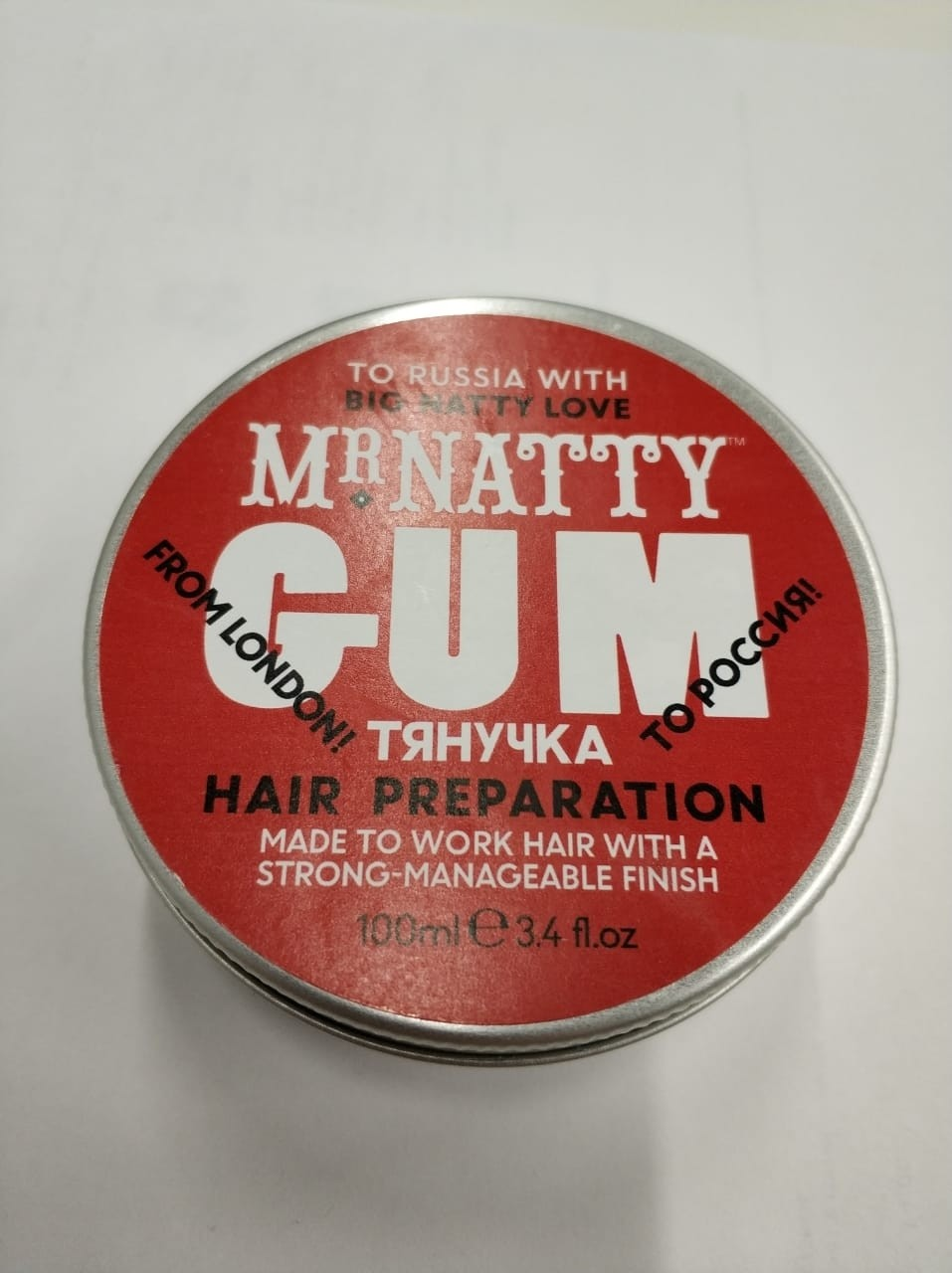 Mr.Natty's GUM Hair Preparation - Тянучка для волос 100 гр