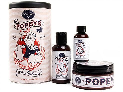 Razor MD Popeye Set - Подарочный набор косметики для бритья