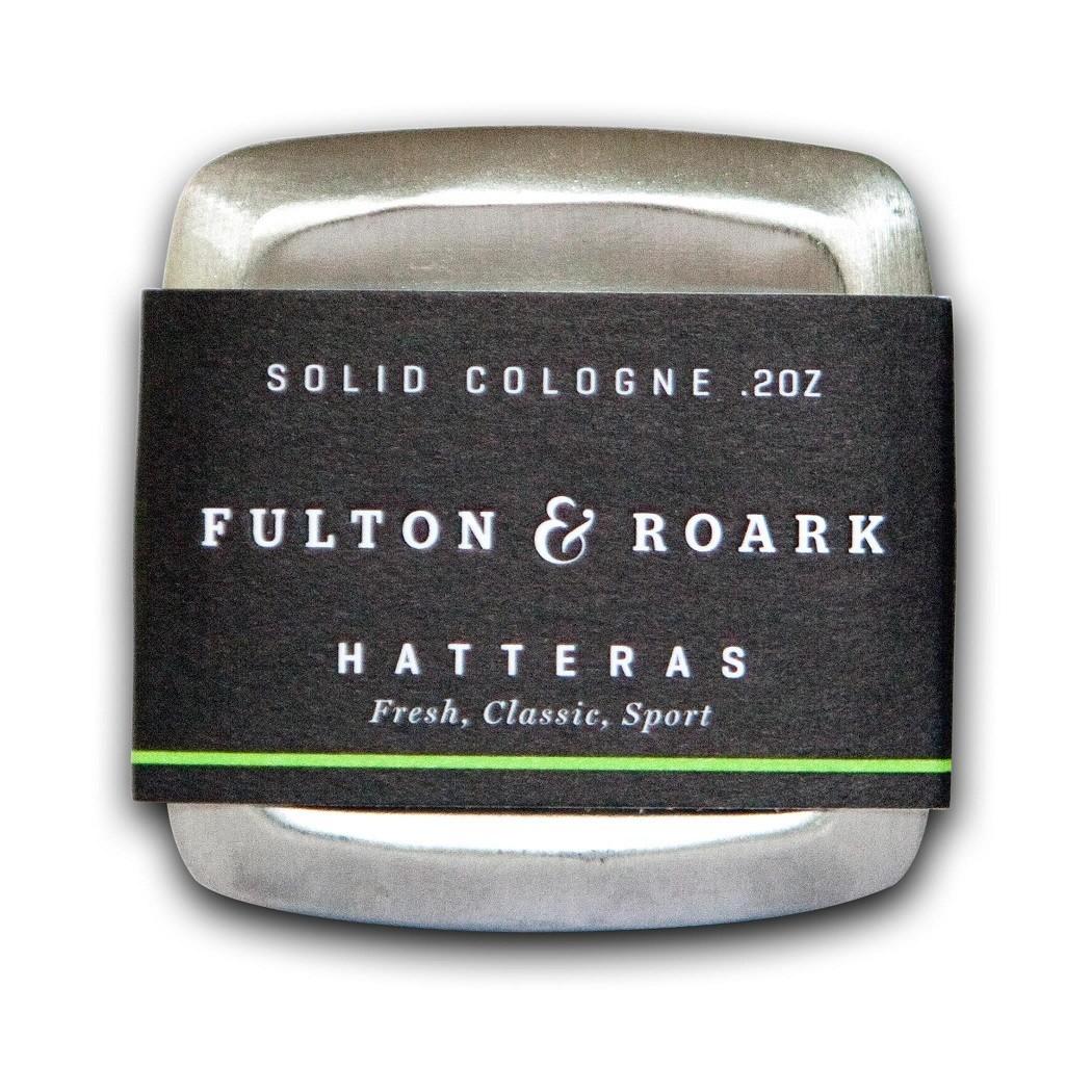Fulton & Roark Solid Cologne Hatteras - Сухой одеколон Классический 57 гр