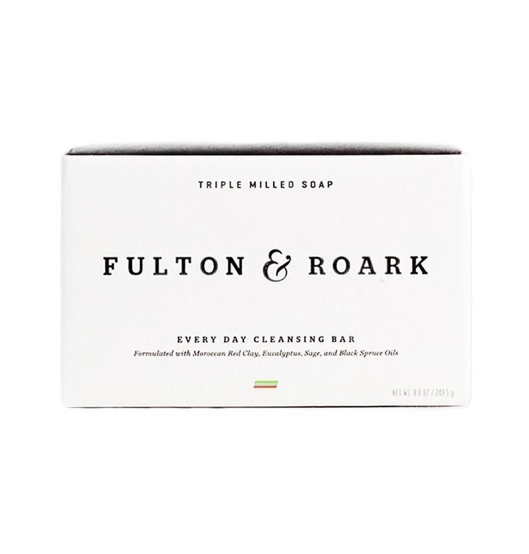 Fulton & Roark Triple Milled Soap - Твердое мыло для душа 250 гр