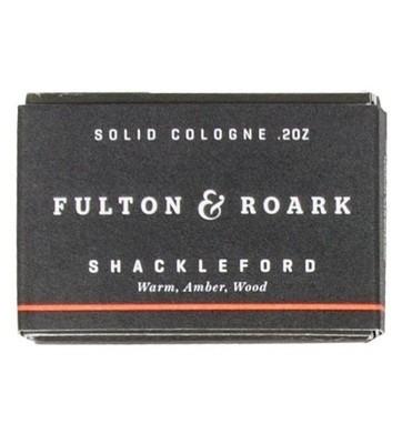 Fulton & Roark Solid Cologne Shackleford Refills - Сменный блок Древесный аромат 57 гр