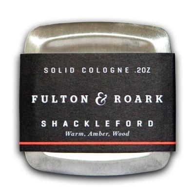 Fulton & Roark Solid Cologne Shackleford - Сухой одеколон Древесный аромат 57 гр