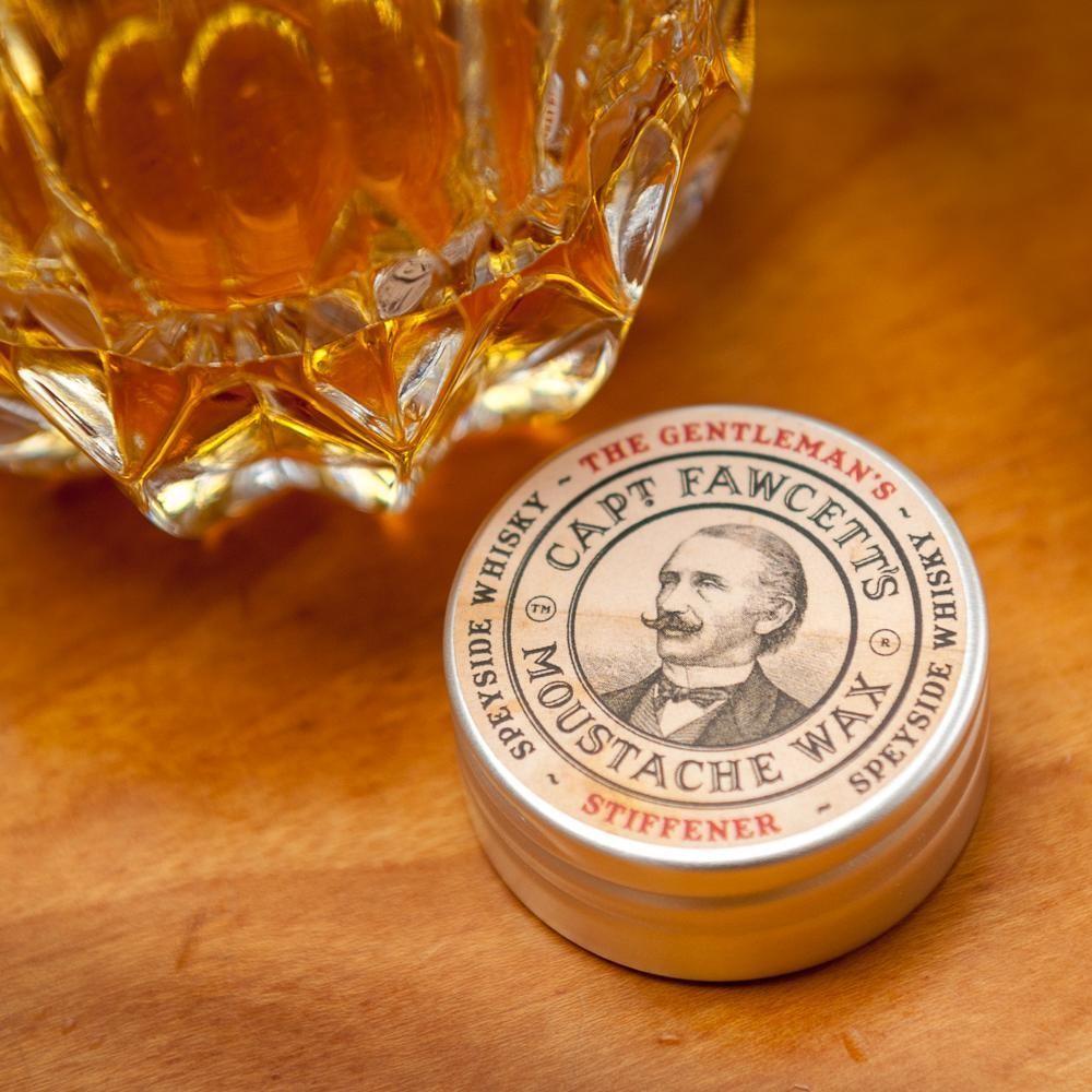CAPTAIN FAWCETT Воск для усов Gentleman's Stiffener Malt Whisky, 15 мл