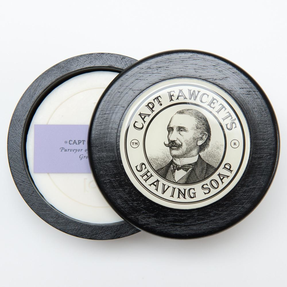 CAPTAIN FAWCETT Роскошное мыло для бритья, 110 г