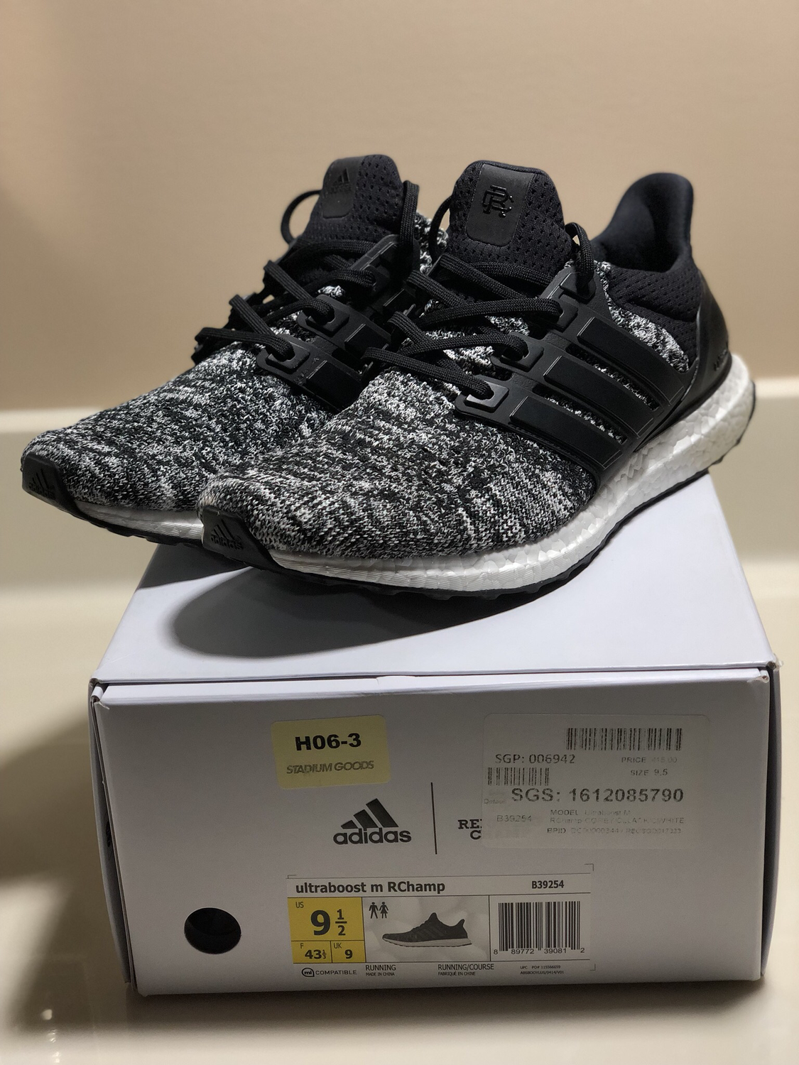 Adidas Ultra Boost Reigning Champ 9