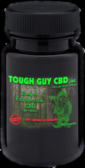 TOUGH GUY CBD CAPSULES  (10)