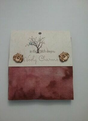 Wooly charms - rood