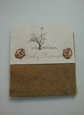 Wooly charms - beige