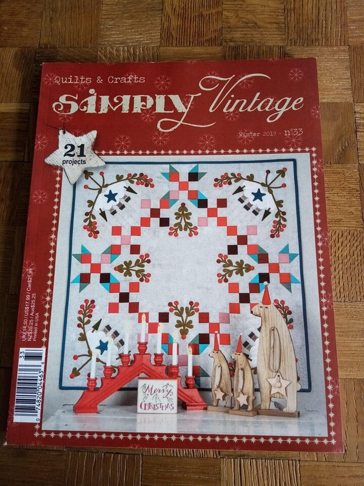 Simply vintage quilts - nr. 33