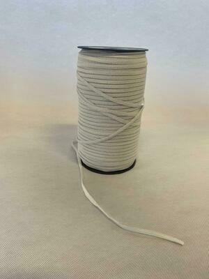 Elastiek extra soepel wit 3mm - per meter