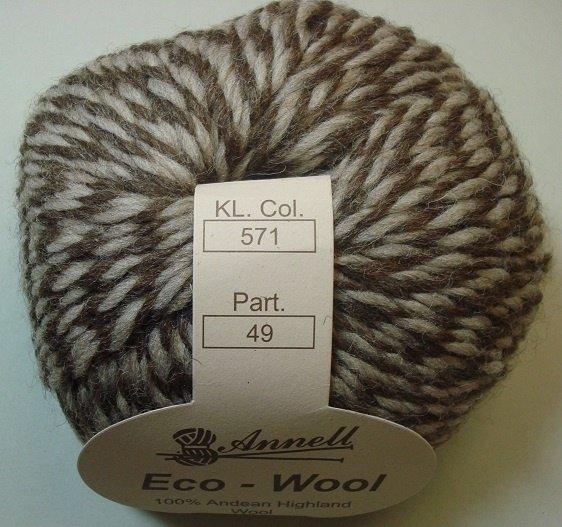 Eco-wool kleur 571