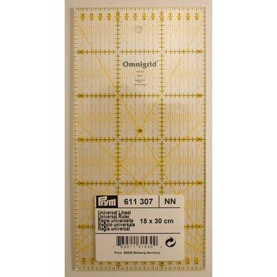 Prym Omnigrid liniaal 15 x 30 centimeter 611307