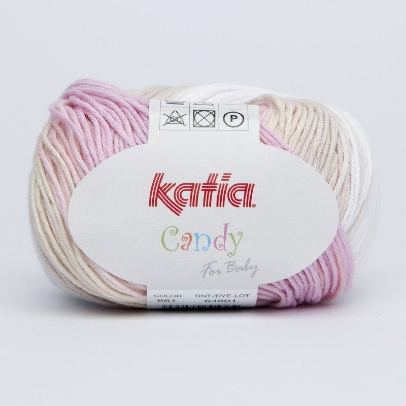 Katia candy kleur 661